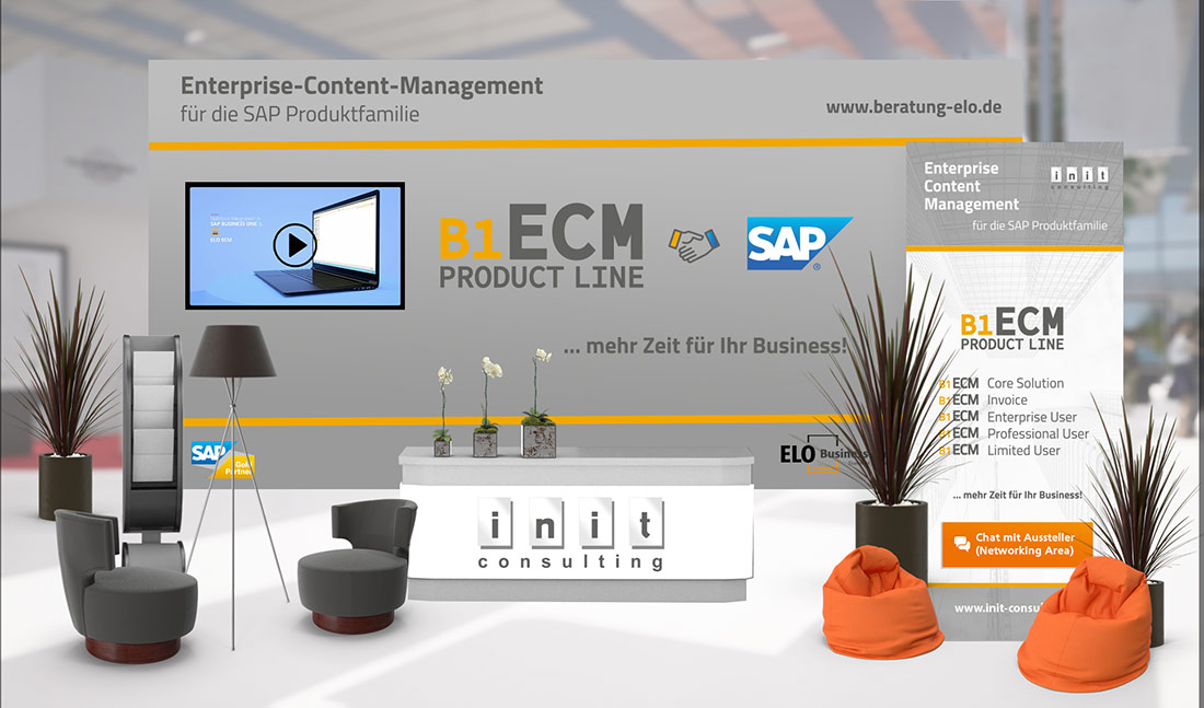 ELO ECM Fachkongress 2021 B1-ECM developed by init - Digitalisierung 4.0 mit SAP Business On