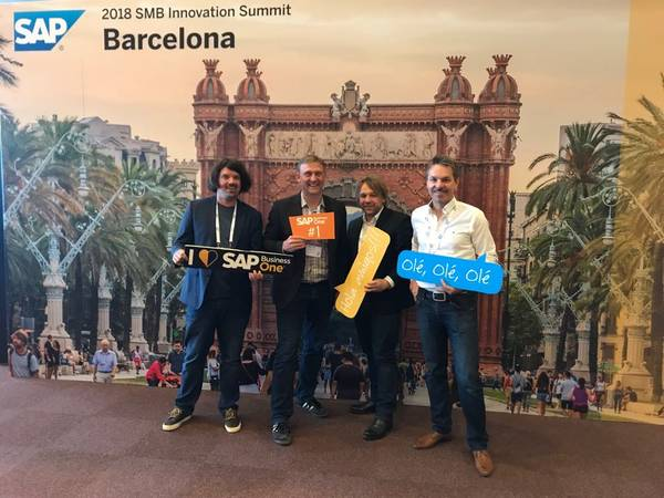 init consulting ag auf der SAP SMB Innovation Summit 2018 in Barcelona